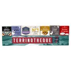 Terrinothèque, assortiment de terrines (7x65g)