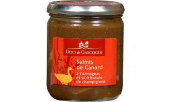 Salmis de canard à l'Armagnac et sa fricassée de champignons 380 g