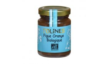 Confiture de Figue et d'Orange Bio (120g)