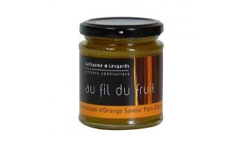 Marmelade d'Orange Saveur Pain d'épices (220g)