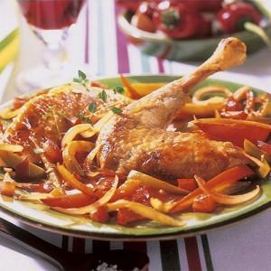 Poulet basquaise au piment d'Espelette (760g)