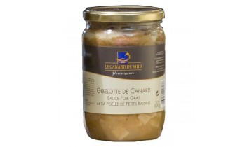 Gibelotte de canard sauce foie gras  (300g)