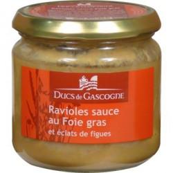Ravioles sauce Foie gras et éclats de Figues (300g)