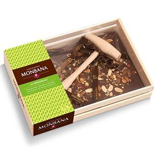 Tablette chocolat  au maillet recette 'La Provençale'