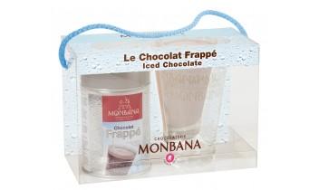 Coffret Chocolat Frappé + Verre MONBANA
