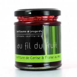 Confiture de printemps : Cerise fraise miel (220g)