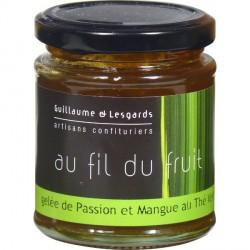 Gelée de passion et mangue thé vert  (220g)
