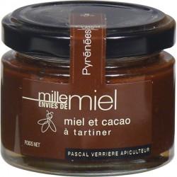 Miel et cacao à tartiner (130g)
