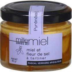 Miel et fleur de sel à tartiner (130g)