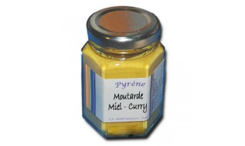 Moutarde Miel et Curry (100g)