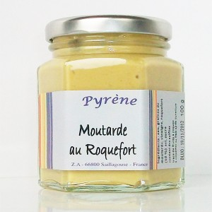 Moutarde au Roquefort (100g)