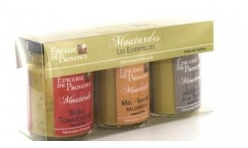 """Coffret de Moutardes """" les essentielles """""""