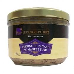 Terrine de Canard au Magret fumé (180g)