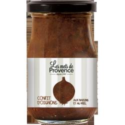 Confit d'oignons aux raisins et au miel (200g)